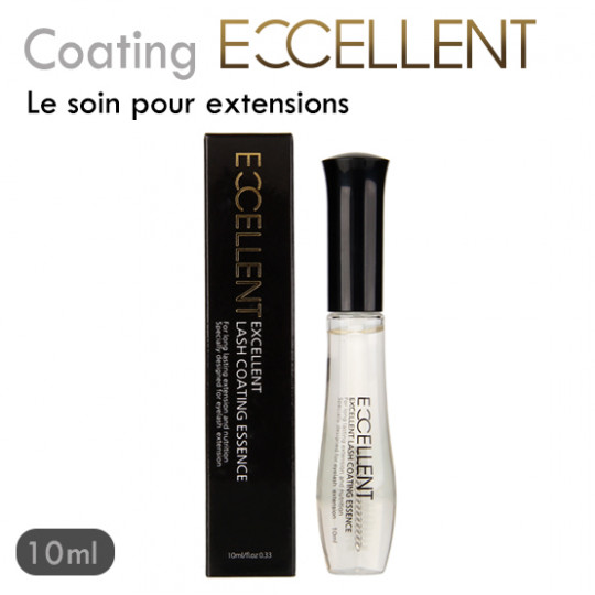 Coating Excellent soin protecteur transparent pour extension de cils