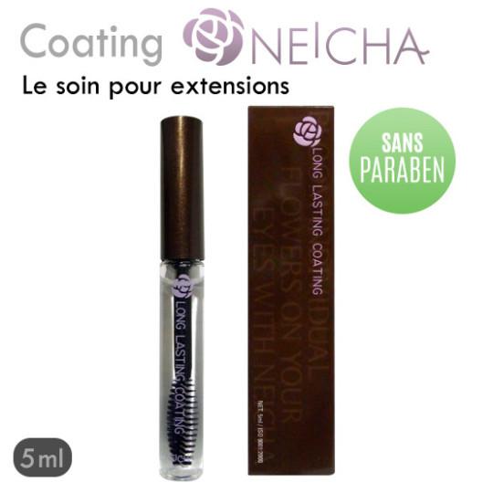 Coating Neicha soin protecteur transparent pour extension de cils sans paraben
