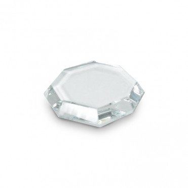 Support verre pour déposer la colle à extension de cils