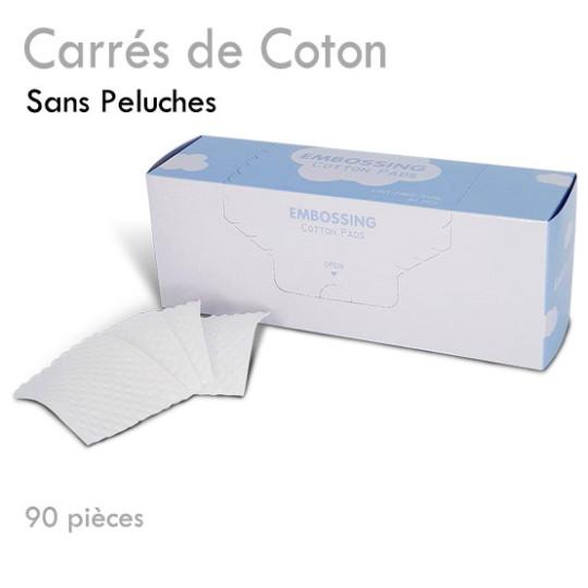 Carrés de Coton 100% Pur Idéal pour Démaquiller