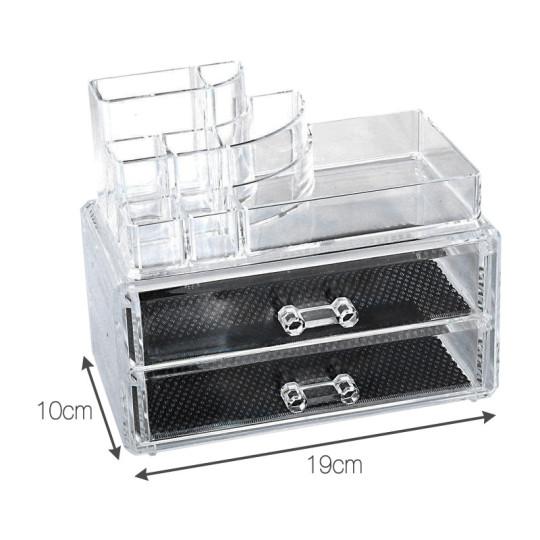 Rangement, Organisateur en Plexiglass extension cils accessoires colle tiroir emplacement brosses