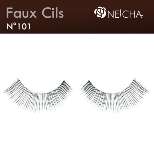 "Faux Cils Neicha Frange ""Doll"" (101)"