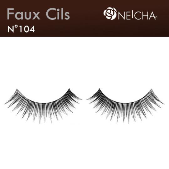"Faux Cils Neicha Frange  ""Intense"" (104)"