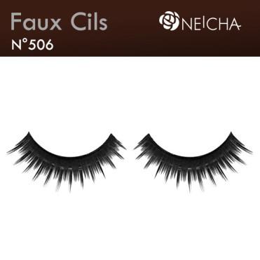 "Faux Cils Neicha Frange ""Long Blackest"" (506)"