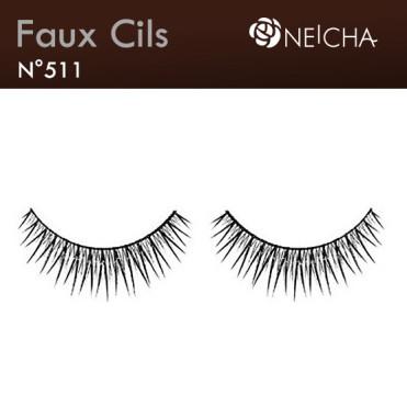 """False Eyelashes """"Glam"""" (511)"""