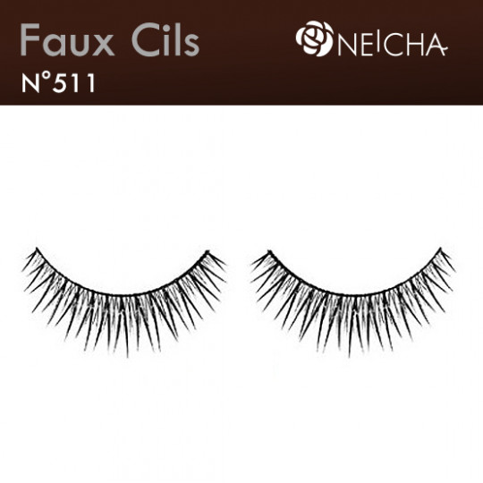 "Faux Cils Neicha Frange ""Glam"" (511)"