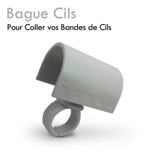 Bague Cils - extension de cils - coller bandes adhésives cils