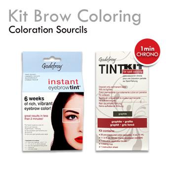 Brow Coloring Express teinture sourcils express naturelle longue durée