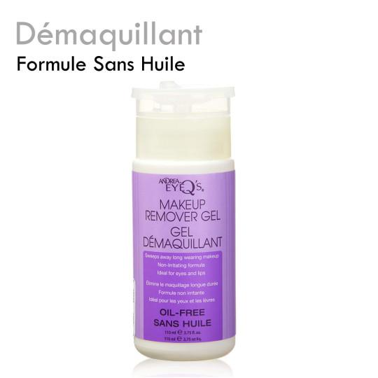 Démaquillant non gras formule sans huile compatible extension de cils