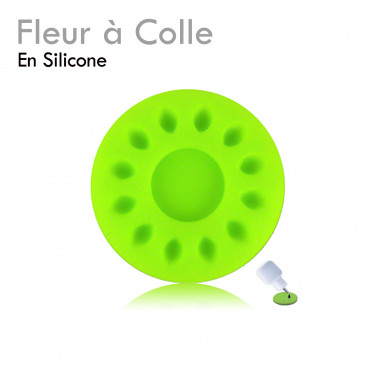 Fleur à Colle support colle extension de cils