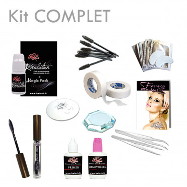 Kit Extension de cils COMPLET