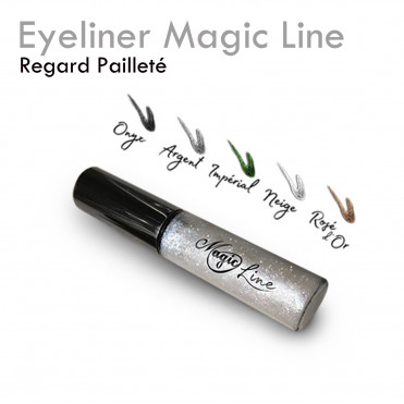 Eyeliner Magic Line pour extension de cils paillette non gras à base d'eau