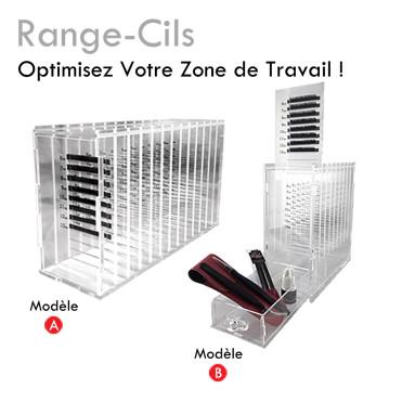 Range-Cils en plexiglas extension de cils ligne de cils palettes rangement organiseur