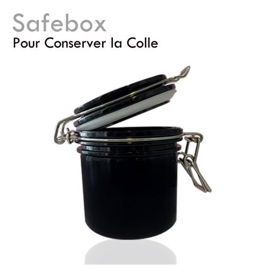 Safebox colle conservation plusieurs flacons protection humidité lumière chaleur hermétique facile d'utilisation résistant léger