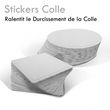 Stickers Colle ralentit le séchage de la colle extension de cils