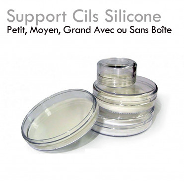 Support Cils Silicone