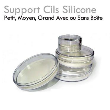 Support Cils Silicone excellente prise en main des extensions de cils