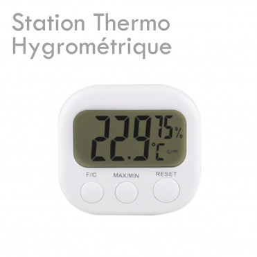 Thermo Hygro Station measure master tempreature humidity glue