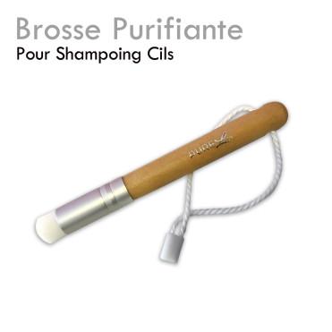 """Brosse Purifiante """"Pure Line"""" shampoing désincrustante poils fins"""