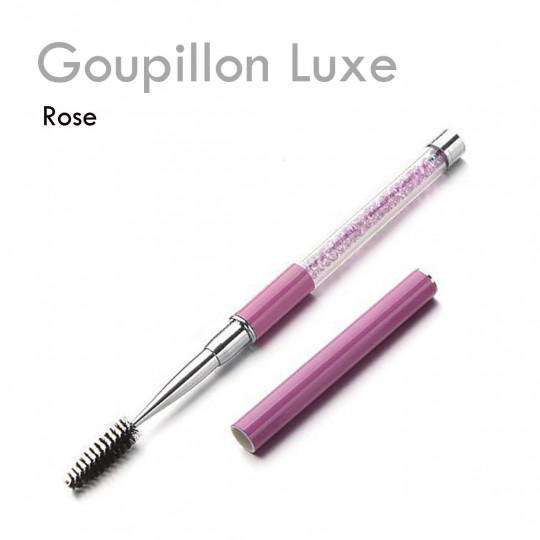 Goupillon Luxe cils extensions de cils entretien quotidien élégant cristal manche capuchon brosse