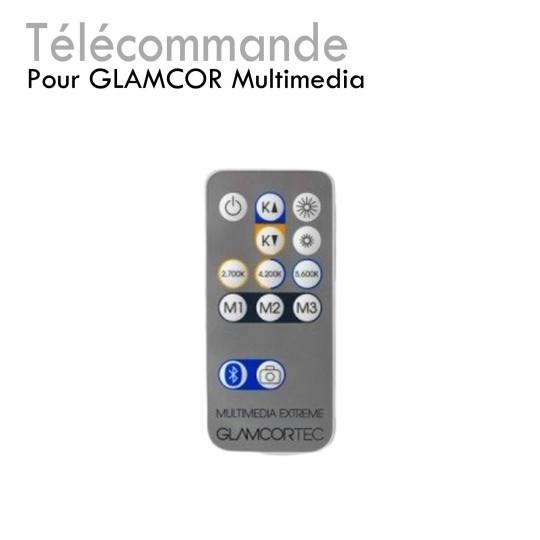 Télécommande pour Glamcor Multimédia bluetooth réglage photos lumière