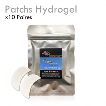 Patchs HYDROGEL Extension de Cils protection repulpant boite de 10 paires