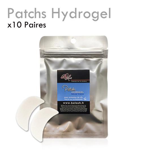 Patchs HYDROGEL Extension de Cils protection repulpant boite de 10 paires