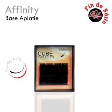 Affinity Cils cube extension de cils cil à cil base applatie