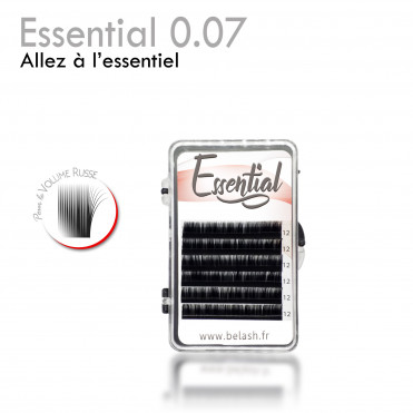 Essential 0.07 eyelash extension russian volume mini tray small price discount