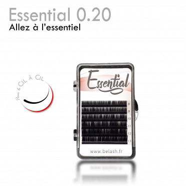 Essential 0.20 eyelash extension lash to lash mini tray small price