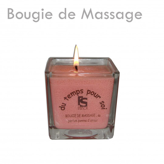 Bougie de Massage huile chaude sensuel