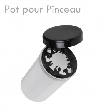 Pots pour Pinceaux maquillage onglerie stockage rangement nettoyage