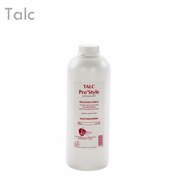 Talc Pro S 500 Gr épilation protection absorption humidité
