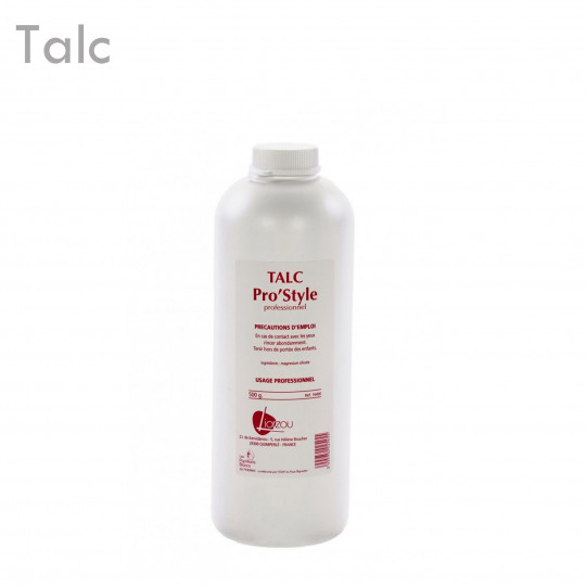 Talc Pro S 500 Gr épilation protection absorption humidité