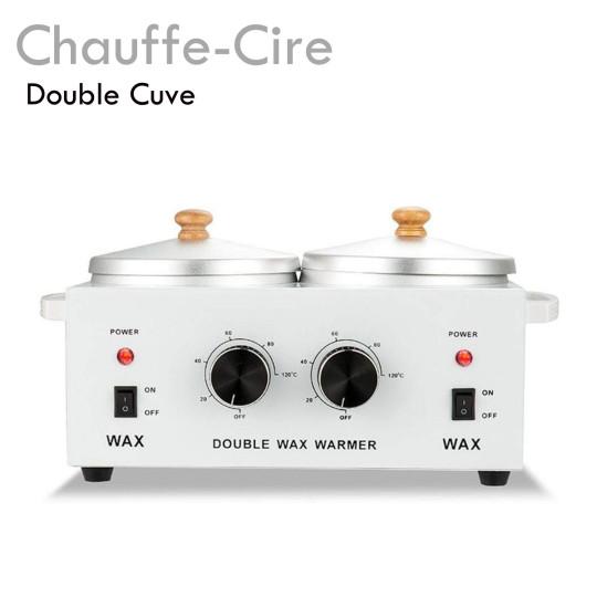 Chauffe Cire Double Cuve épilation professionnel pratique qualité