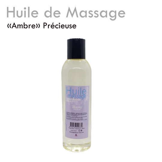 """Huile Précieuse """"Ambre"""" délicate agréable fondante massage détente"""