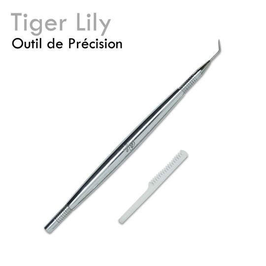 Tiger Lily pointe séparer isoler positionner demeler extension de cils
