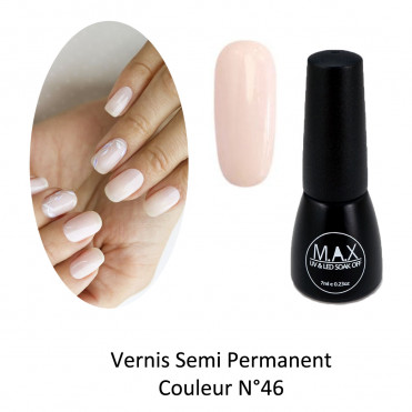 Vernis Semi Permanent - Amber White (46)