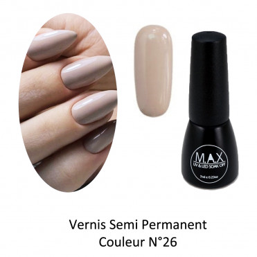 Vernis Semi Permanent - Ash Rose (26)