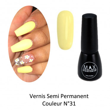 Vernis Semi Permanent - Champagne Yellow (31)
