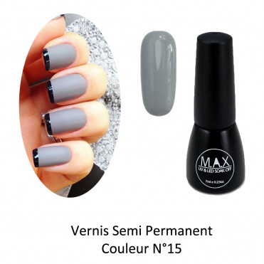 Vernis Semi Permanent - French Grey (15)