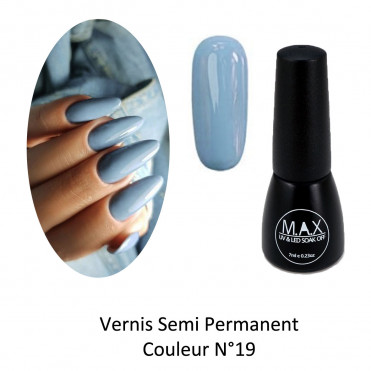 Vernis Semi Permanent - Heavenly Blue (19)