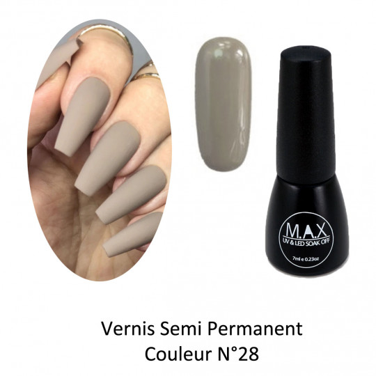 Vernis Semi Permanent - Ivy Grey (28)