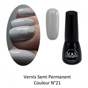 Vernis Semi Permanent - Light Slate Grey (21)