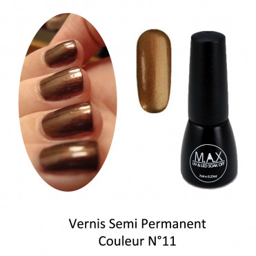 Vernis Semi Permanent - Metallic Bronze (11)