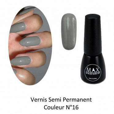 Vernis Semi Permanent - Moss Grey (16)