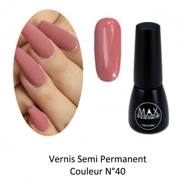 Vernis Semi Permanent - Lotus Pink (40)