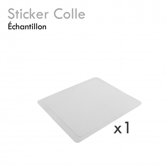 Sticker colle cadeau échantillon