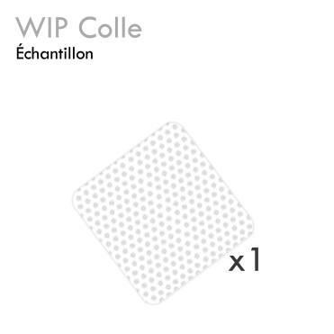 Échantillon WIP extension de cil nettoyer la colle sans peluche carré