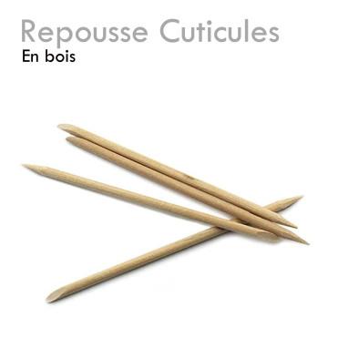 Repousse Cuticules en bois lot de 10 pratique indispensable facile